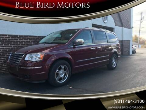 2008 Chrysler Town and Country for sale at Blue Bird Motors in Crossville TN
