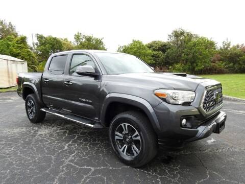 2018 Toyota Tacoma for sale at SUPER DEAL MOTORS 441 in Hollywood FL