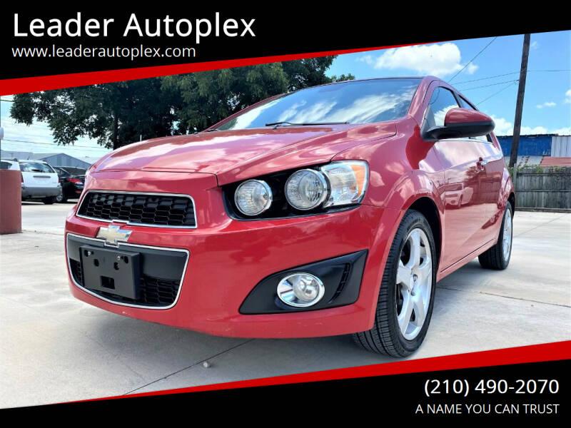 2013 Chevrolet Sonic for sale at Leader Autoplex in San Antonio TX