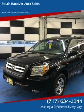 2006 Honda Pilot for sale at South Hanover Auto Sales in Hanover PA