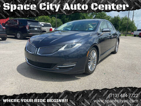2014 Lincoln MKZ for sale at Space City Auto Center in Houston TX