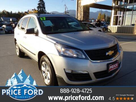 2017 Chevrolet Traverse for sale at Price Ford Lincoln in Port Angeles WA