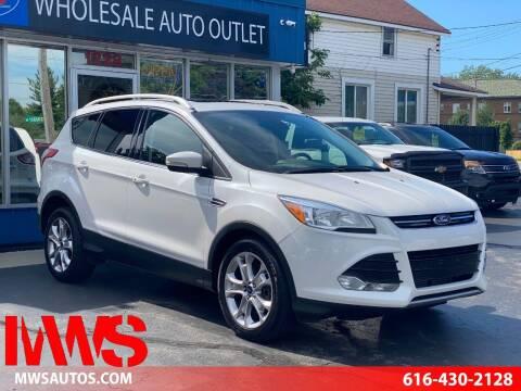 2014 Ford Escape for sale at MWS Wholesale  Auto Outlet in Grand Rapids MI