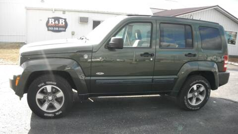 2008 Jeep Liberty for sale at B & B Sales 1 in Decorah IA