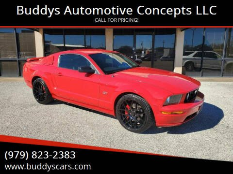 2006 Ford Mustang for sale at Buddys Automotive Concepts LLC in Bryan TX