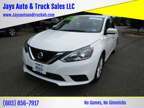 2019 Nissan Sentra for sale at Jays Auto & Truck Sales LLC in Loudon NH