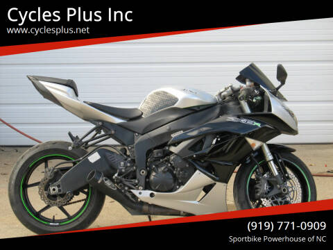 2011 Kawasaki Ninja ZX-6R for sale at Cycles Plus Inc in Garner NC