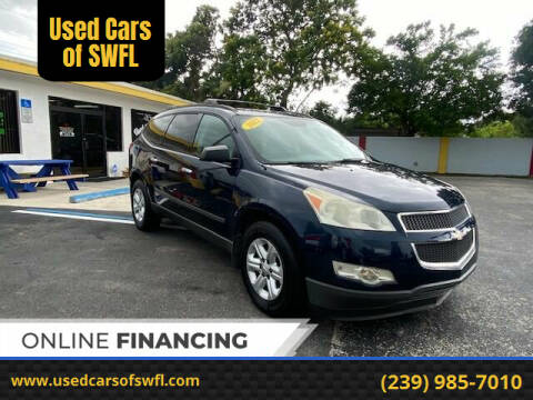 2012 Chevrolet Traverse for sale at Used Cars of SWFL in Fort Myers FL