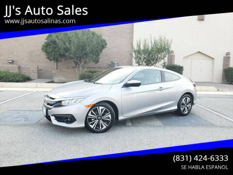 2016 Honda Civic for sale at JJ's Auto Sales in Salinas CA