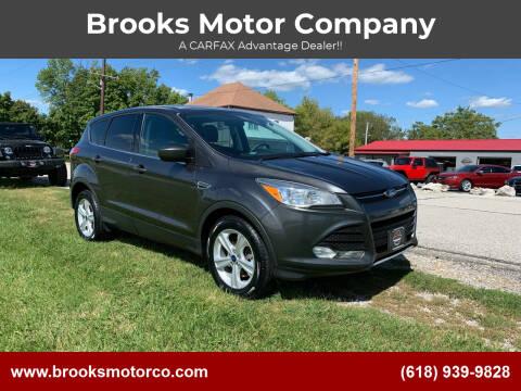 2015 Ford Escape for sale at Brooks Motor Company in Columbia IL