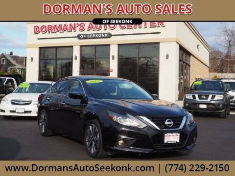 2017 Nissan Altima for sale at DORMANS AUTO CENTER OF SEEKONK in Seekonk MA