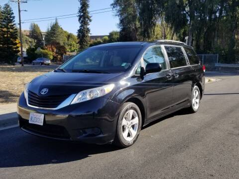 2013 Toyota Sienna for sale at Gateway Motors in Hayward CA