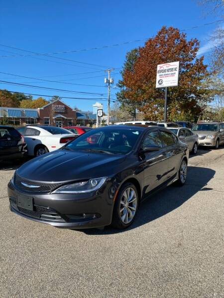 2016 Chrysler 200 for sale at NEWFOUND MOTORS INC in Seabrook NH