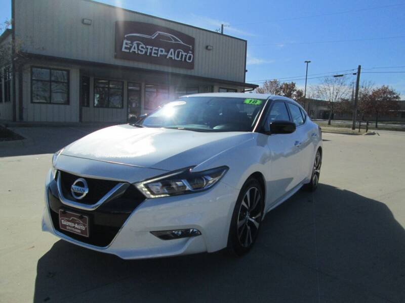 2018 Nissan Maxima for sale at Eastep Auto Sales in Bryan TX