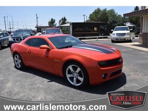 2013 Chevrolet Camaro for sale at Carlisle Motors in Lubbock TX