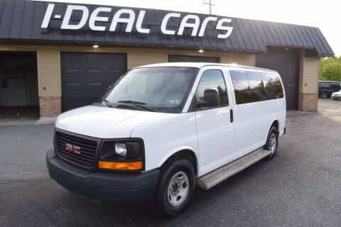 2012 GMC Savana Passenger for sale at I-Deal Cars in Harrisburg PA