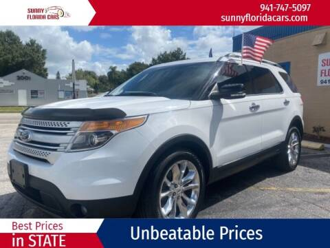 2014 Ford Explorer for sale at Sunny Florida Cars in Bradenton FL