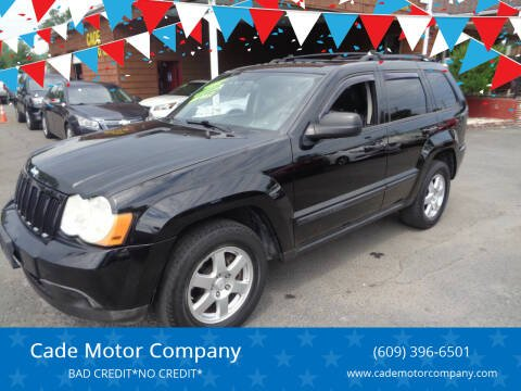 2008 Jeep Grand Cherokee for sale at Cade Motor Company in Lawrence Township NJ