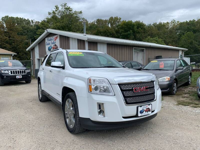 2012 GMC Terrain for sale at Victor's Auto Sales Inc. in Indianola IA