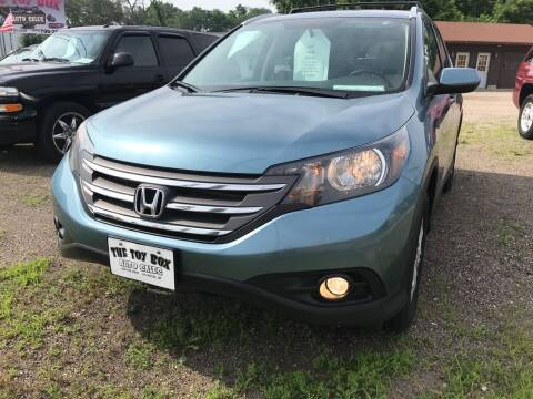 2013 Honda CR-V for sale at Toy Box Auto Sales LLC in La Crosse WI