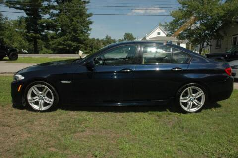 2011 BMW 5 Series for sale at Bruce H Richardson Auto Sales in Windham NH