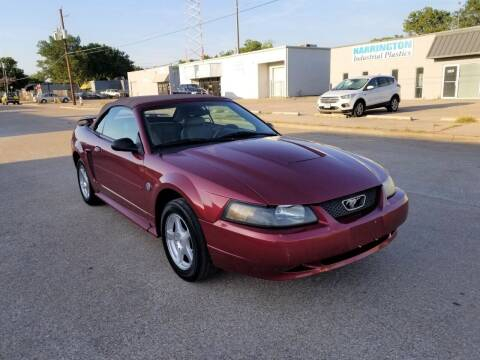 2004 Ford Mustang for sale at Image Auto Sales in Dallas TX