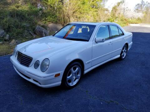 2001 Mercedes-Benz E-Class for sale at Encore Motors in Macon GA