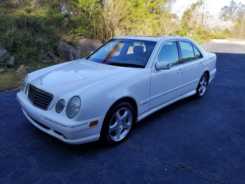 2001 Mercedes-Benz E-Class for sale at Encore Motors in Macon GA