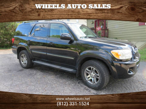 2006 Toyota Sequoia for sale at Wheels Auto Sales in Bloomington IN