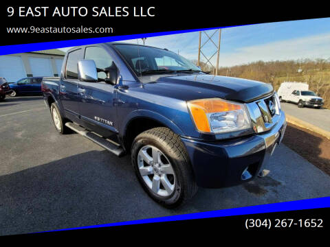 2010 Nissan Titan for sale at 9 EAST AUTO SALES LLC in Martinsburg WV