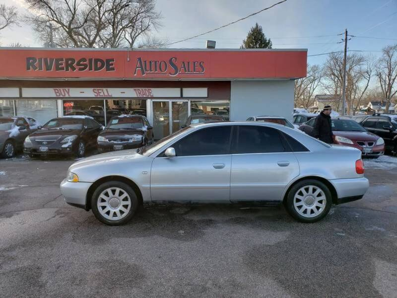 2001 Audi A4 for sale at RIVERSIDE AUTO SALES in Sioux City IA