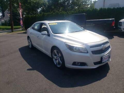 2013 Chevrolet Malibu for sale at PAYLESS CAR SALES of South Amboy in South Amboy NJ
