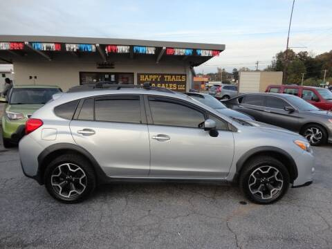 2015 Subaru XV Crosstrek for sale at HAPPY TRAILS AUTO SALES LLC in Taylors SC