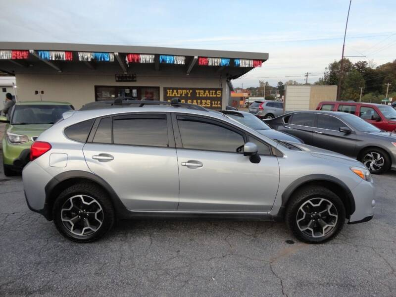 2015 Subaru XV Crosstrek for sale at HAPPY TRAILS AUTO SALES LLC in Taylors SC