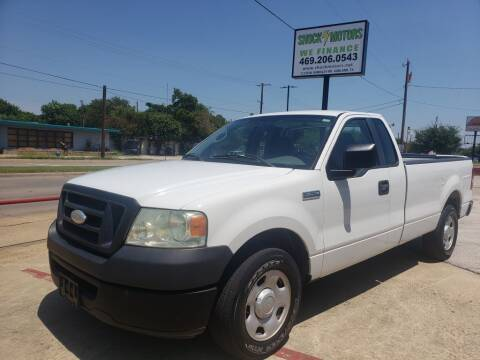 2008 Ford F-150 for sale at Shock Motors in Garland TX