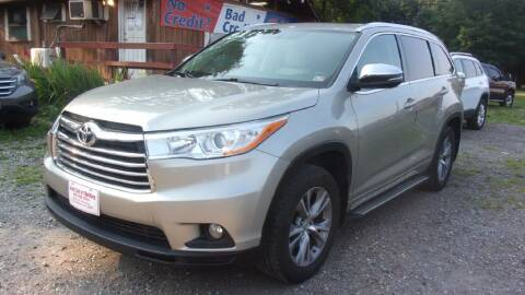 2014 Toyota Highlander for sale at Select Cars Of Thornburg in Fredericksburg VA