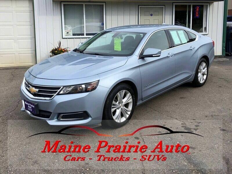 2014 Chevrolet Impala for sale at Maine Prairie Auto INC in Saint Cloud MN