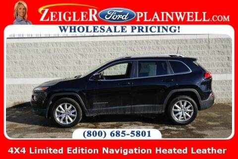 2017 Jeep Cherokee for sale at Zeigler Ford of Plainwell- Jeff Bishop in Plainwell MI