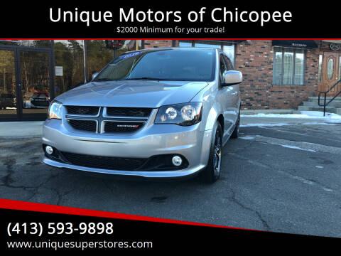 2019 Dodge Grand Caravan for sale at Unique Motors of Chicopee in Chicopee MA