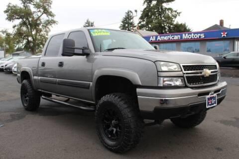 2007 Chevrolet Silverado 1500 Classic for sale at All American Motors in Tacoma WA