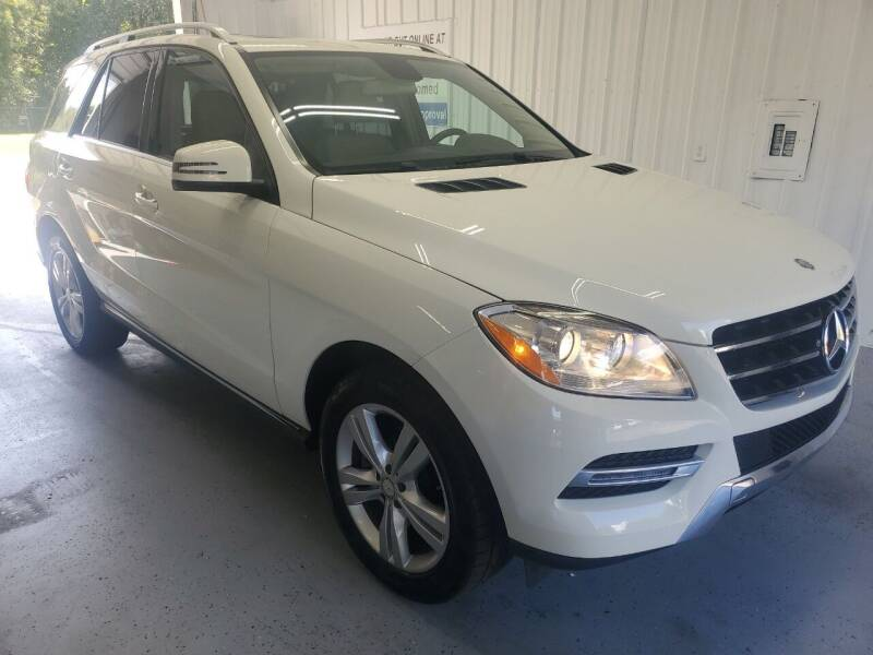 2013 Mercedes-Benz M-Class for sale at Bailey Family Auto Sales in Lincoln AR