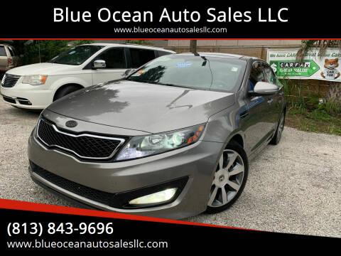 2013 Kia Optima for sale at Blue Ocean Auto Sales LLC in Tampa FL