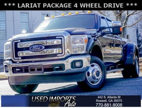 2016 Ford F-350 Super Duty for sale at Used Imports Auto in Roswell GA