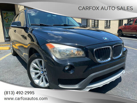 2015 BMW X1 for sale at Carfox Auto Sales in Tampa FL