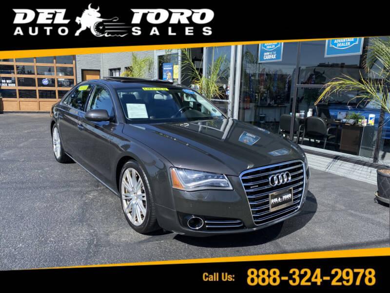 2011 Audi A8 L for sale at DEL TORO AUTO SALES in Auburn WA