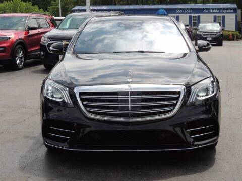 2018 Mercedes-Benz S-Class for sale at Auto Finance of Raleigh in Raleigh NC