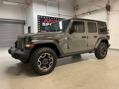 2018 Jeep Wrangler Unlimited for sale at Arizona Specialty Motors in Tempe AZ