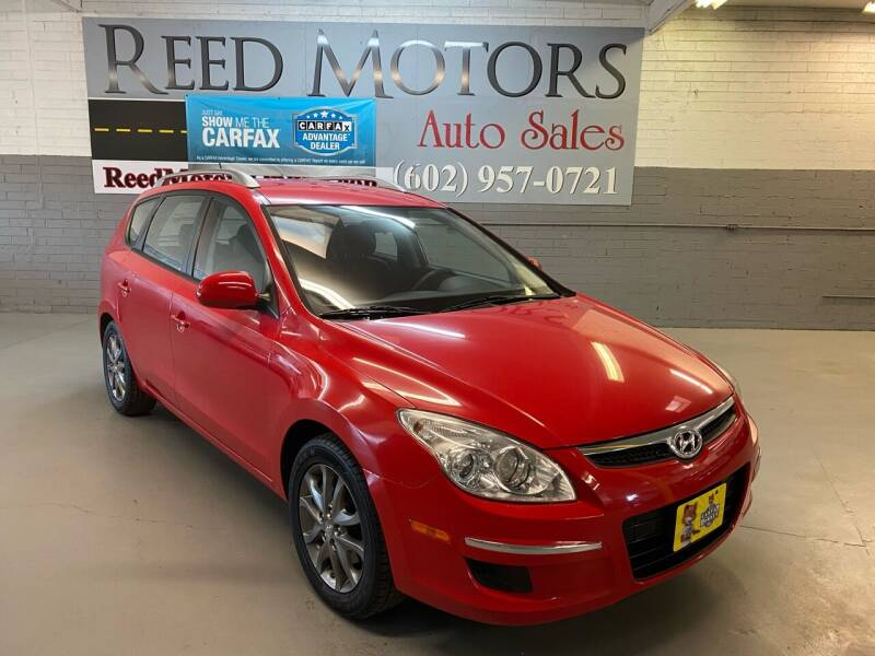 2012 Hyundai Elantra Touring for sale at REED MOTORS LLC in Phoenix AZ