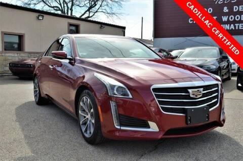 2016 Cadillac CTS for sale at LAKESIDE MOTORS, INC. in Sachse TX