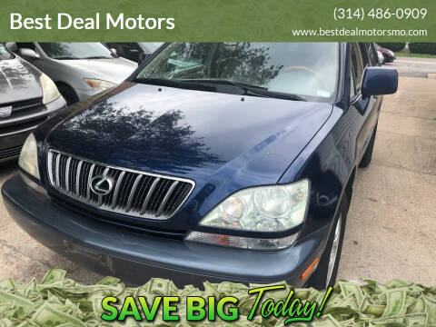 2001 Lexus RX 300 for sale at Best Deal Motors in Saint Charles MO